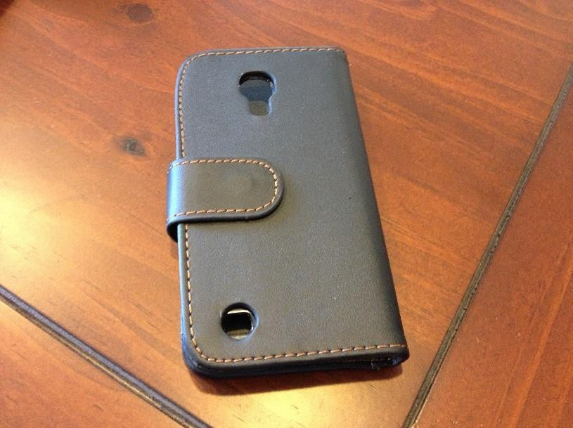 Samsung I9190 Galaxy S4 mini Leather Case 25% 2