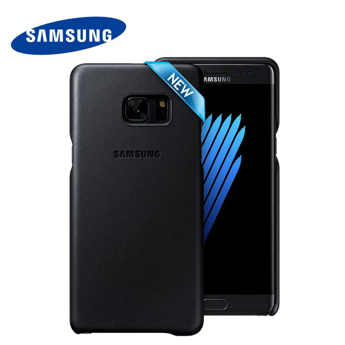 Samsung Note 7 Leather Cover - Black EF-VN930LBEGWW Profile Pic