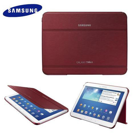 Samsung Tab 3 10.1 Bookcover - Garnet Red 1