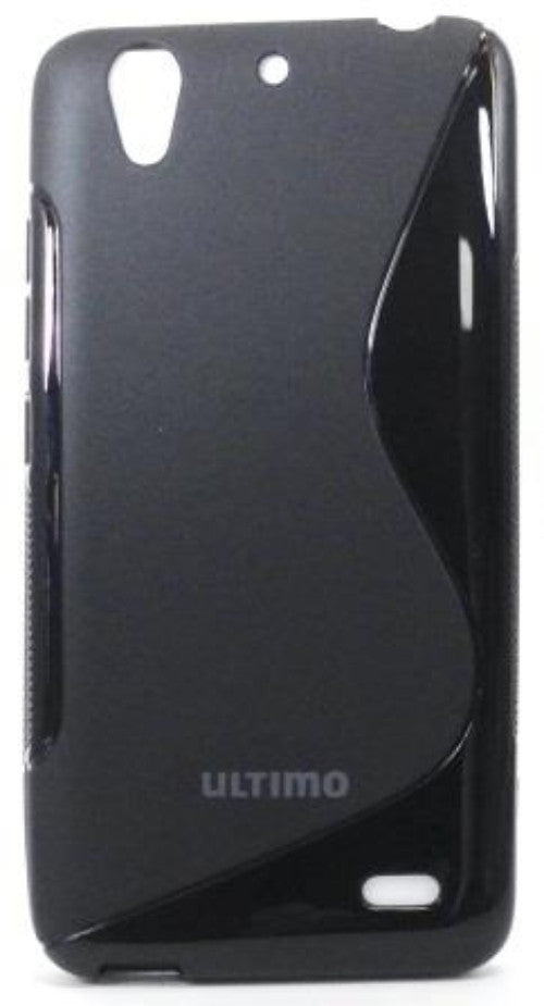TPU Jelly case for Huawei G630 Black 1