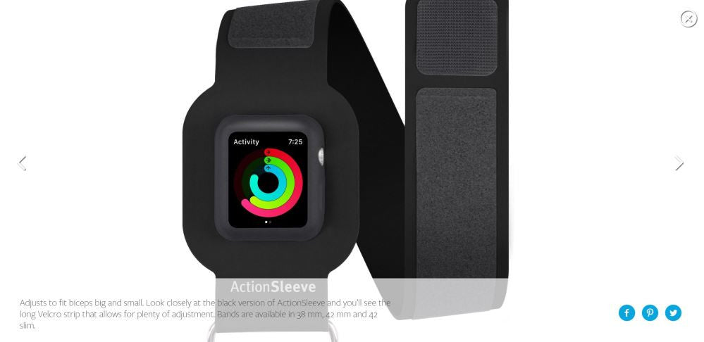 TWELVESOUTH ActionSleeve for Apple Watch Misc 11