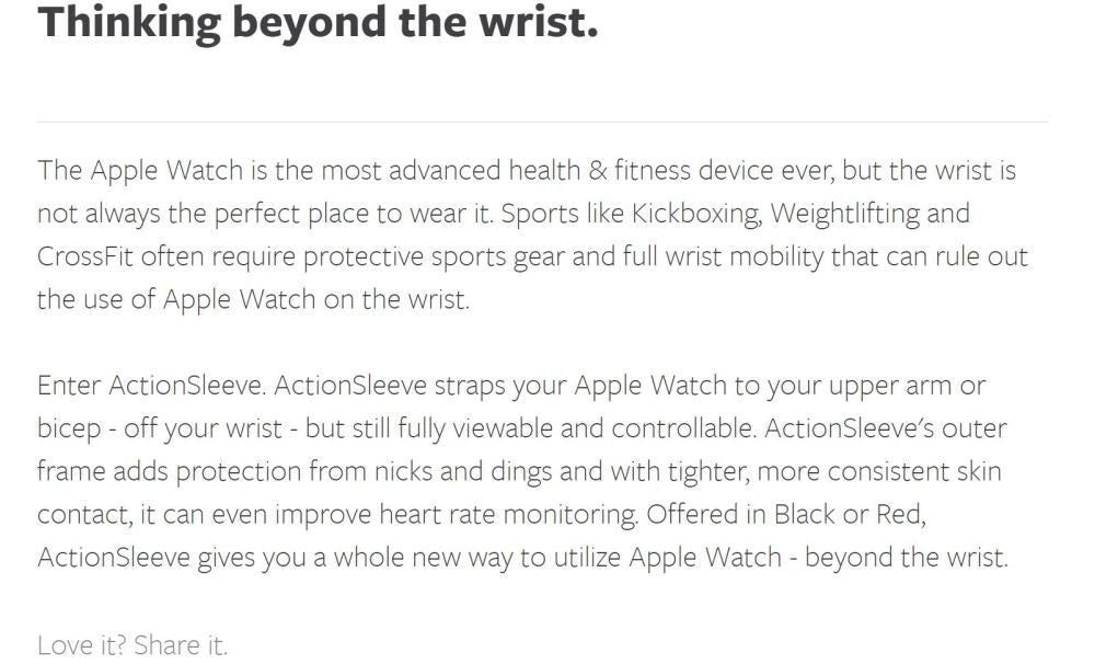 TWELVESOUTH ActionSleeve for Apple Watch Misc 2