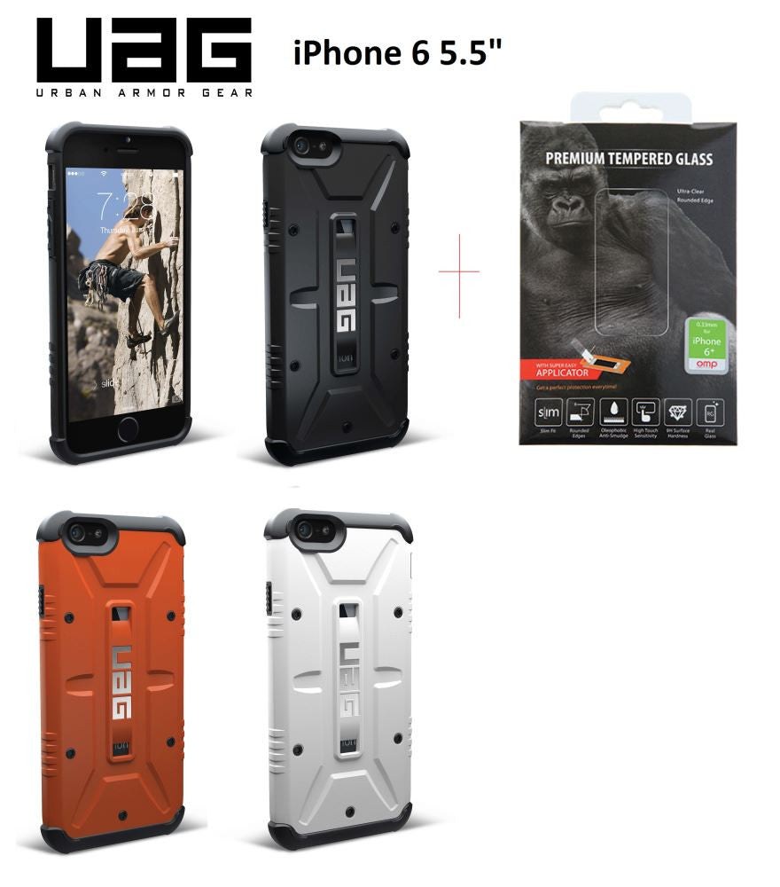 UAG Composite Case for iPhone 6 Plus PROFILE PIC + Glass SP