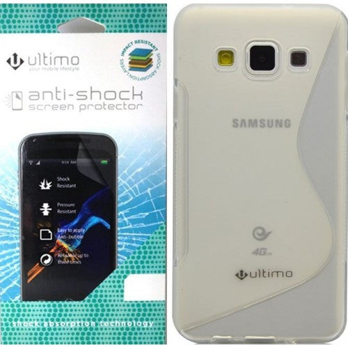 ULTIMO TPU JELLY CASE & ANTI-SHOCK FOR SAMSUNG A5 - CLEAR