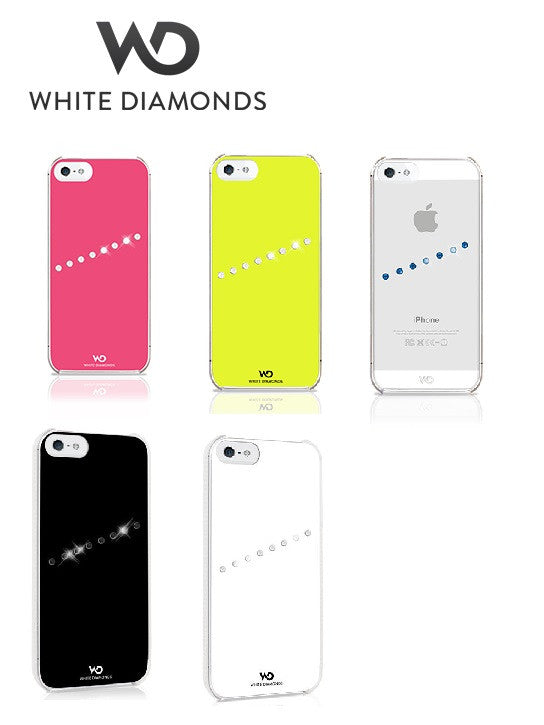 iPhone 5 White Diamonds Sash Case PROFILE PIC