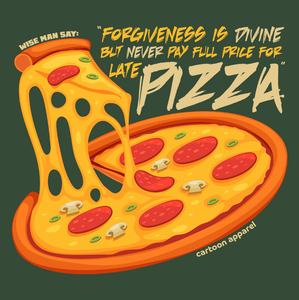 Forgiveness Is Divine Pizza T-Shirt