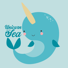 Load image into Gallery viewer, Unicorn of the Sea (Narwhal) T-Shirt