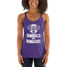 Load image into Gallery viewer, Dumbbells over Dumbasses - Women's Racerback Tank