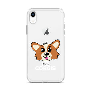 I Love Corgis - iPhone Case