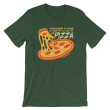Load image into Gallery viewer, Forgiveness Is Divine Pizza T-Shirt