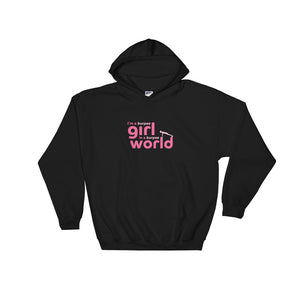 I'm a Burpee Girl in a Burpee World Hooded Sweatshirt