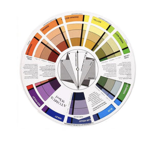 Permanent Makeup Color Wheel for Correction