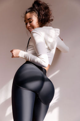Second Skin BLACK- Leggings Yoga Pants 003