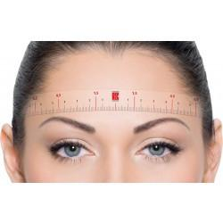 Perfect Brow ruler 20 pc - SWISS COLOR™  Canada Permanent Makeup