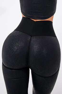 Second Skin BLACK- Leggings Yoga Pants 007