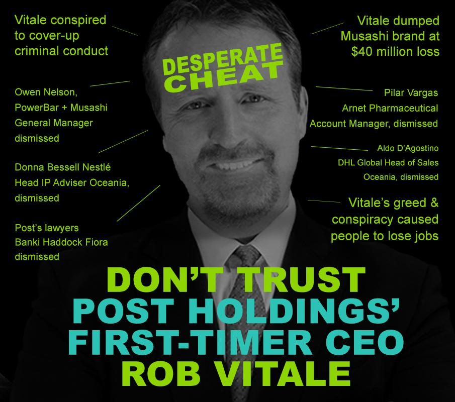 Rob Vitale Post Holdings SEC filings