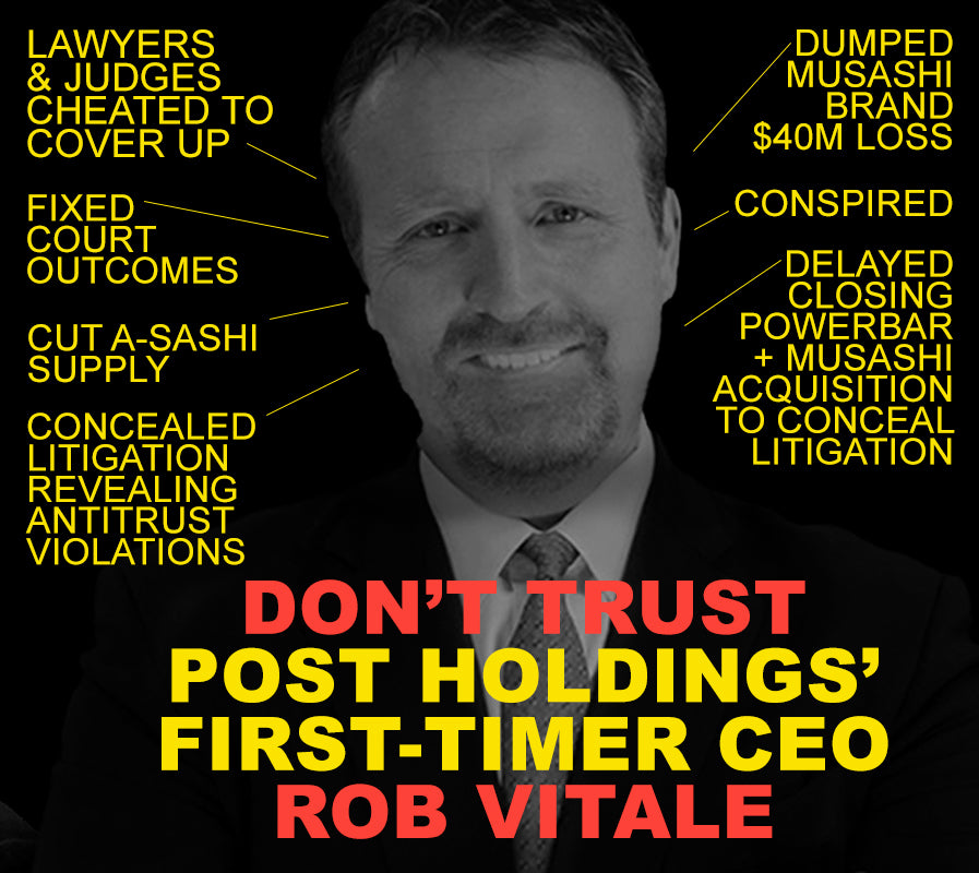 Rob Vitale Post Holdings
