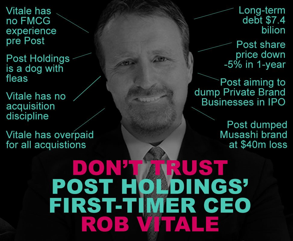 Post Holdings Jeff A. Zadoks