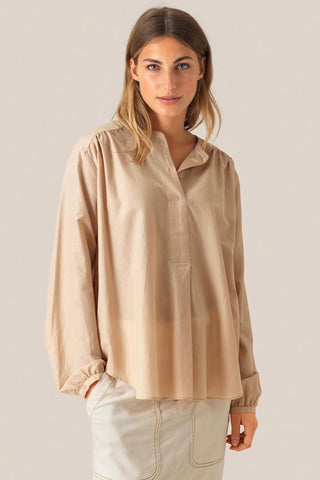 SECOND FEMALE Auso Blouse. Cuban Sand