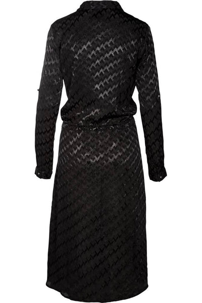 NU DENMARK Shirt Dress, Anthracite