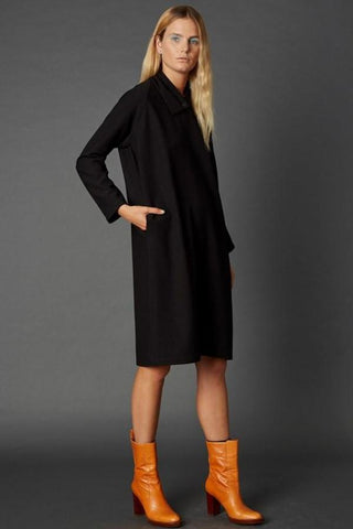 ZAMBESI, Raglan Dress, Black