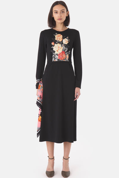 KATE SYLVESTER Blooms Dress, Black