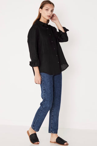 ASSEMBLY LABEL Xander Shirt, Black