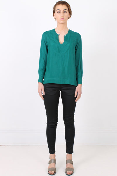 PERISCOPE Studio Shirt, Emerald