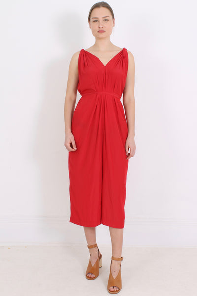 PERISCOPE Ursula Dress, Red