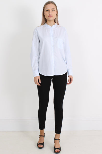 RABENS Chantal Raw Edge Shirt