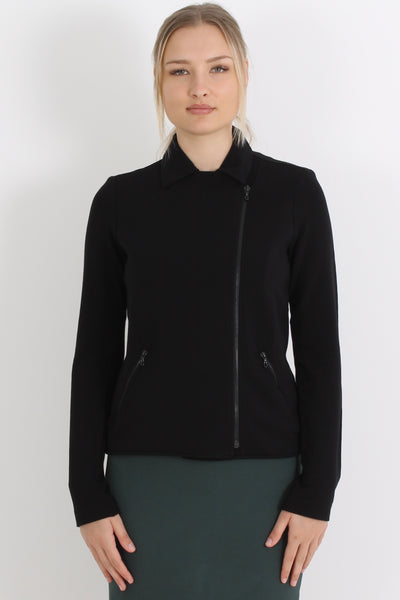 MAJESTIC Moto Jacket, Black