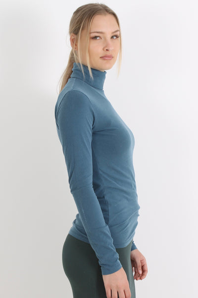 MAJESTIC Turtle Neck Top