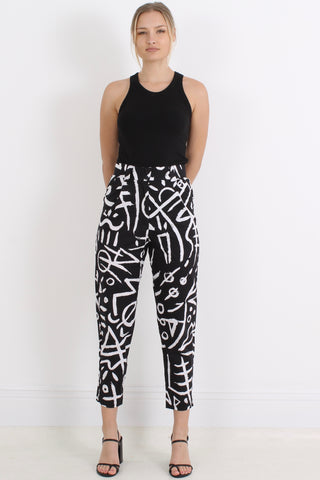 HH Party Up Pants, Verse 2 Black