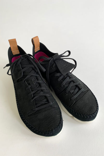 CLARKS Trigenic Flex, Black Nubuck