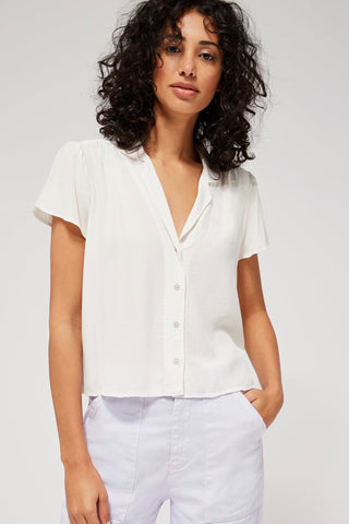 LACAUSA Margot Blouse, Panacotta