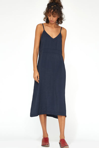 LACAUSA Alma Slip Dress, Velvet