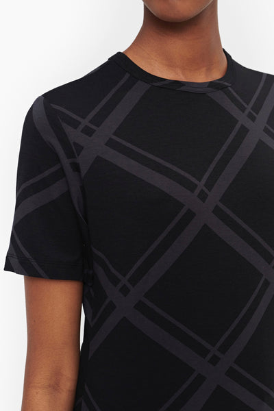 MARIMEKKO Horrus Haamuruutu Tee, Black/ Dark Grey