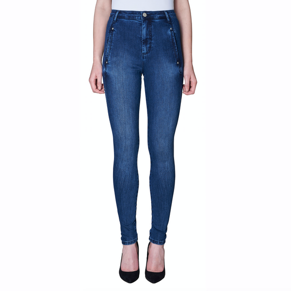 FIVE UNITS Jolie Pant, Dark Albany