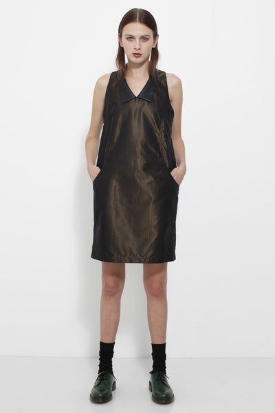 Shift Dress Bronze