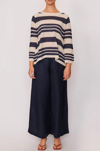 POL Gala Button Pant, Navy