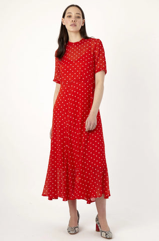 KATE SYLVESTER Sibilla Dress, Red