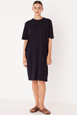 ASSEMBLY LABEL Cotton Tee Dress, Worn Navy