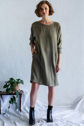 KRISTIN MAGRIT Longsleeve Sweatshirt Dress