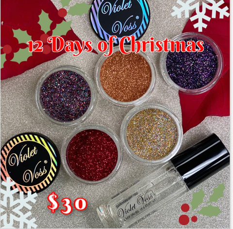 12 Days of Christmas Sale: Glitter Bundle