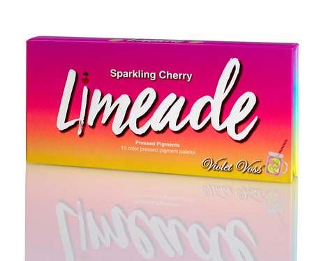 Sparkling Cherry Limeaid Mini Pressed Pigment Palette