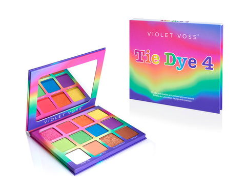 Tie Dye 4 Eye Shadow &  Pressed Pigment Palette