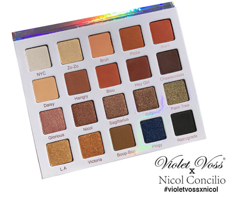 Nicol Concilio Eye Shadow Palette