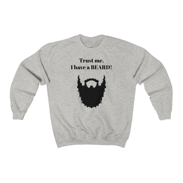 Bearded Crewneck Sweatshirt
