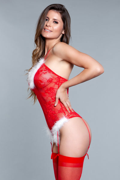Naughty Santa Bodysuit