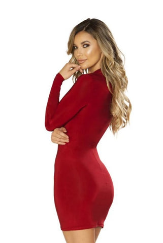Image of Jaelyn Long Sleeved Dress-Dress-Fab Fantasies
